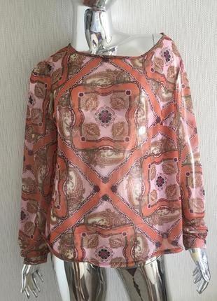 Рубашка блуза с открытой спиной