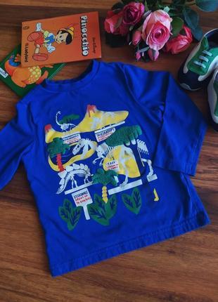 Модный реглан,футболка, кофта f&f на 1,5-2 года.
