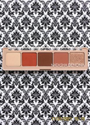 Лимитированная палетка теней natasha denona peak eyeshadow palette тени для век 12.5 г