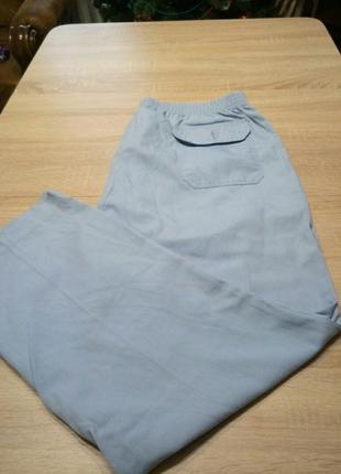 Медицинские штаны. большой размер.