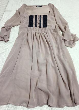 Шифоновое платье .