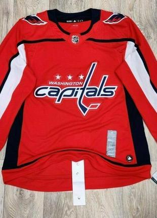 Washington capitals nhl hockey adidas jersey