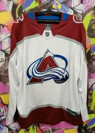 Colorado avalanche nhl ice hockey longsleeve jersey fanatics колорадо эвеланш