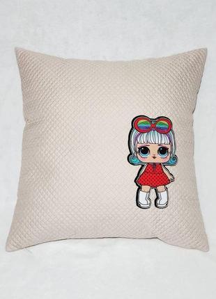 Детская декоративная подушка lol