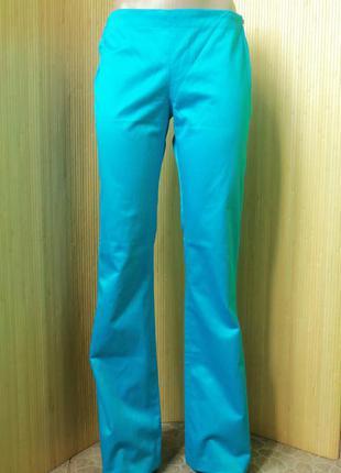 Лазурные джинсы с боковой молнией levis