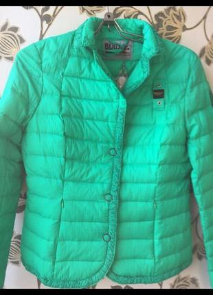 Куртка стеганая в полоску blauer u.s.a новая стёганка пуховик