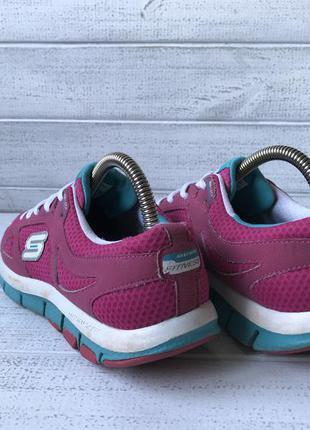 Кроссовки skechers розовые для бега зала фитнеса