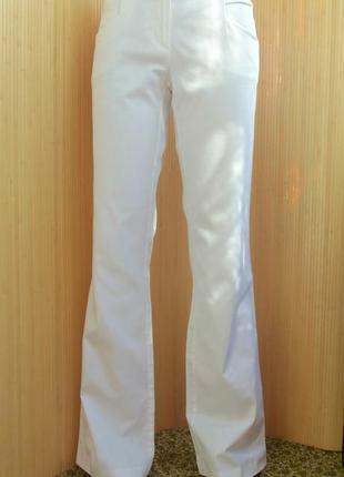 Хлопковые белые брюки orsay