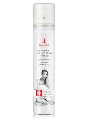 Распродажа! дезодорант для интимной гигиены с цветочным ароматом 1658 faberlic