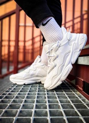 Adidas ozweego 🍏 стильные женские мужские кроссовки адидас