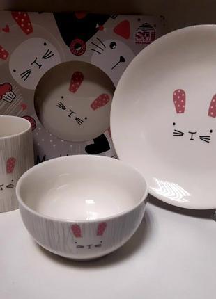 Набір столового посуду для дітей