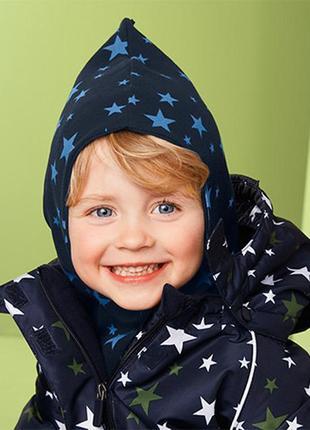 Двусторонняя двухслойная шапка шлем на мальчика тсм tchibo.