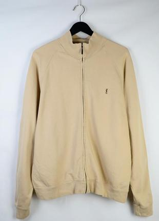 Vintage yves saint laurent (ysl) zip-up jacket
