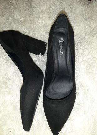 Туфли замшевые!