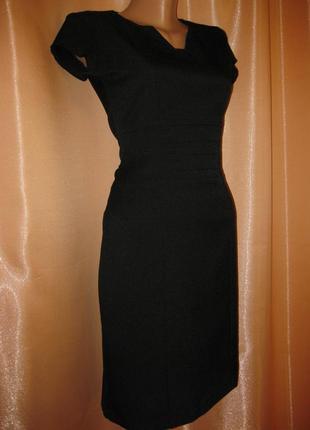 Платье классическое строгое в офис, mimi for la beeby, 8uk/36eur/6us,  км0839