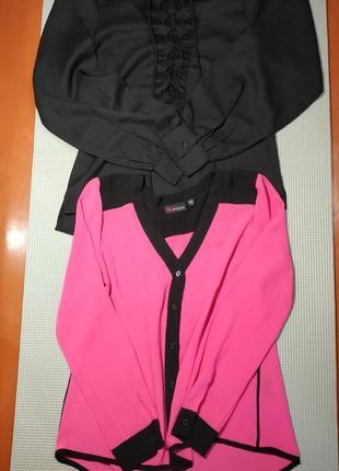 1+1 женские летние блузки с длинными рукавами и лампасами