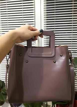 Женская сумка из натуральной кожи, galanty
