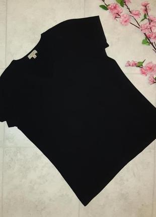 1+1=3 базовая фирменная черная футболка с v-образным вырезом departure, размер 50 - 52