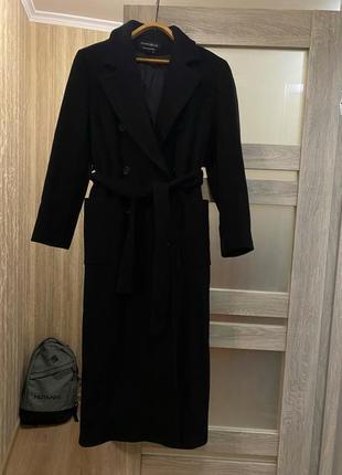 Длинное трендовое пальто