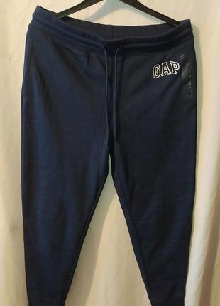 Новые мужские оригинальные спортивные штаны gap с микрофлисом внутри