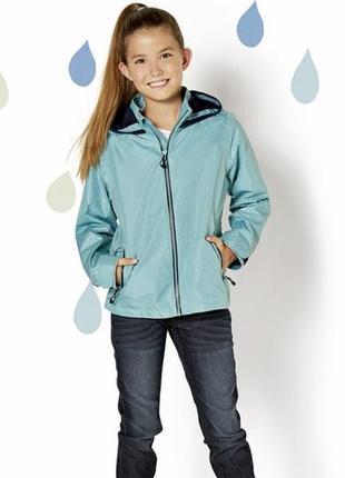 Куртка для дівчинки crivit дощовик вітрівка р128, 146