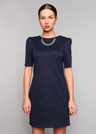 Платье grand ua темно-синее 44р.