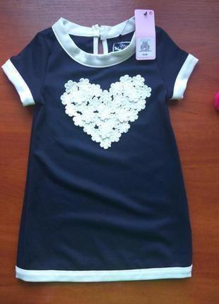 Новое платье на девочку # ткани на девочку # primark