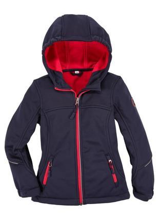 Куртка софтшел вітрівка, дощовик pocopiano ветровка 128, 140, 164