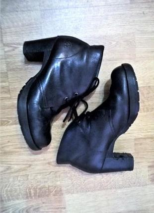 Dr. martens viviana ботильоны на каблуке ботинки кожаные мартинс dm's