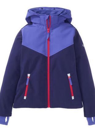 Куртка softshell kiki&koko р134-140 вітрівка ветровка деми