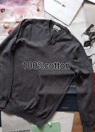 🎅 отличный базовый пуловер/джемпер серого цв кр иа