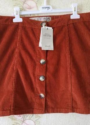 Новая женская юбка # вельветовая юбка # юбка # denim co