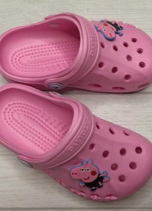 Кроксы виталия vitaliya обувь для бассейна и пляжа розовые 20-35рр