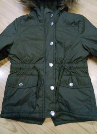 Легкая деми куртка парка pepperts р 128, 152
