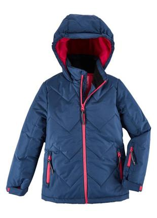 Зимняя лыжная теплая термо куртка, из германии р 116 active kids
