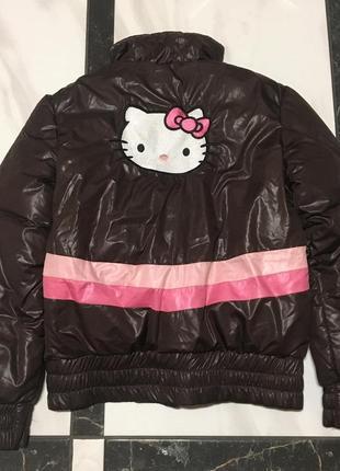 Деми куртка hello kitty 14лет