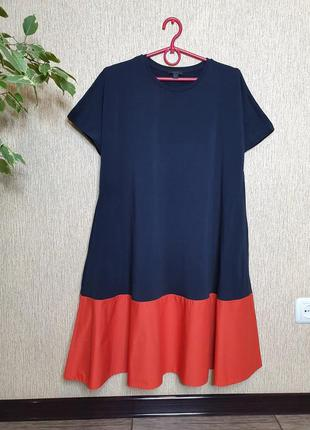 Крутое стильное  свободное платье cos, оригинал