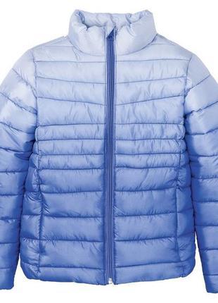 Тепла легка куртка для дівчаток pepperts 140, 146, 152, 158