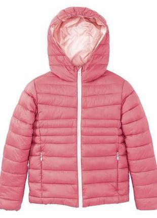 Тепла легка куртка для дівчаток pepperts 158