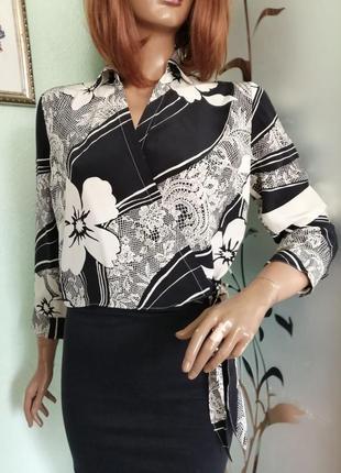 Шелковая блуза gerard darel