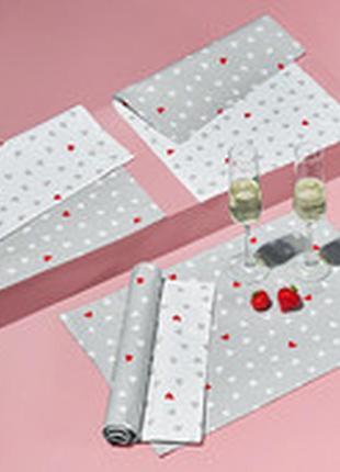 Красивые тканые салфетки для сервировки стола от tchibo (германия)