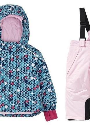Термо комбинезон для девочки от lupilu р. 86-92 см куртка штани