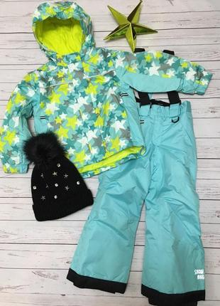 Термо комбинезон для девочки от lupilu р. 86-92 куртка штани
