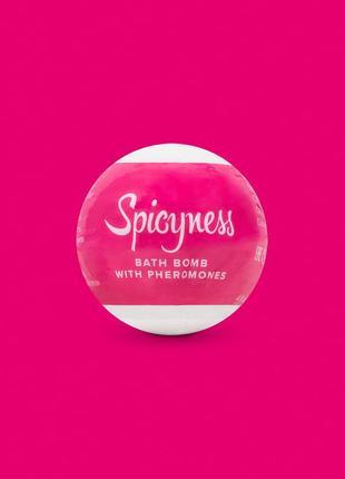 Бомбочка для ванны с феромонами   spicy obsessive (польша)