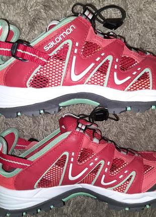 Трекинговые кроссовки сандали salomon, оригинал, 40 размер
