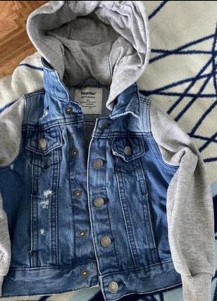 💙акция.джинсовая куртка. к любой покупке подарок