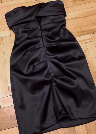 Платье атласноё