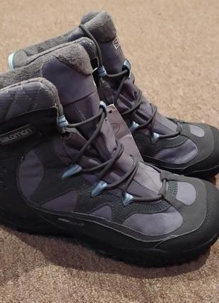 Женские треккинговые ботинки salomon west ts (368795)