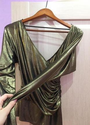 Нарядная блузка стрейч