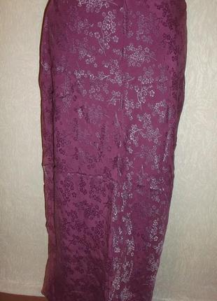 Стильная юбка шелк вискоза. р. m - laroque